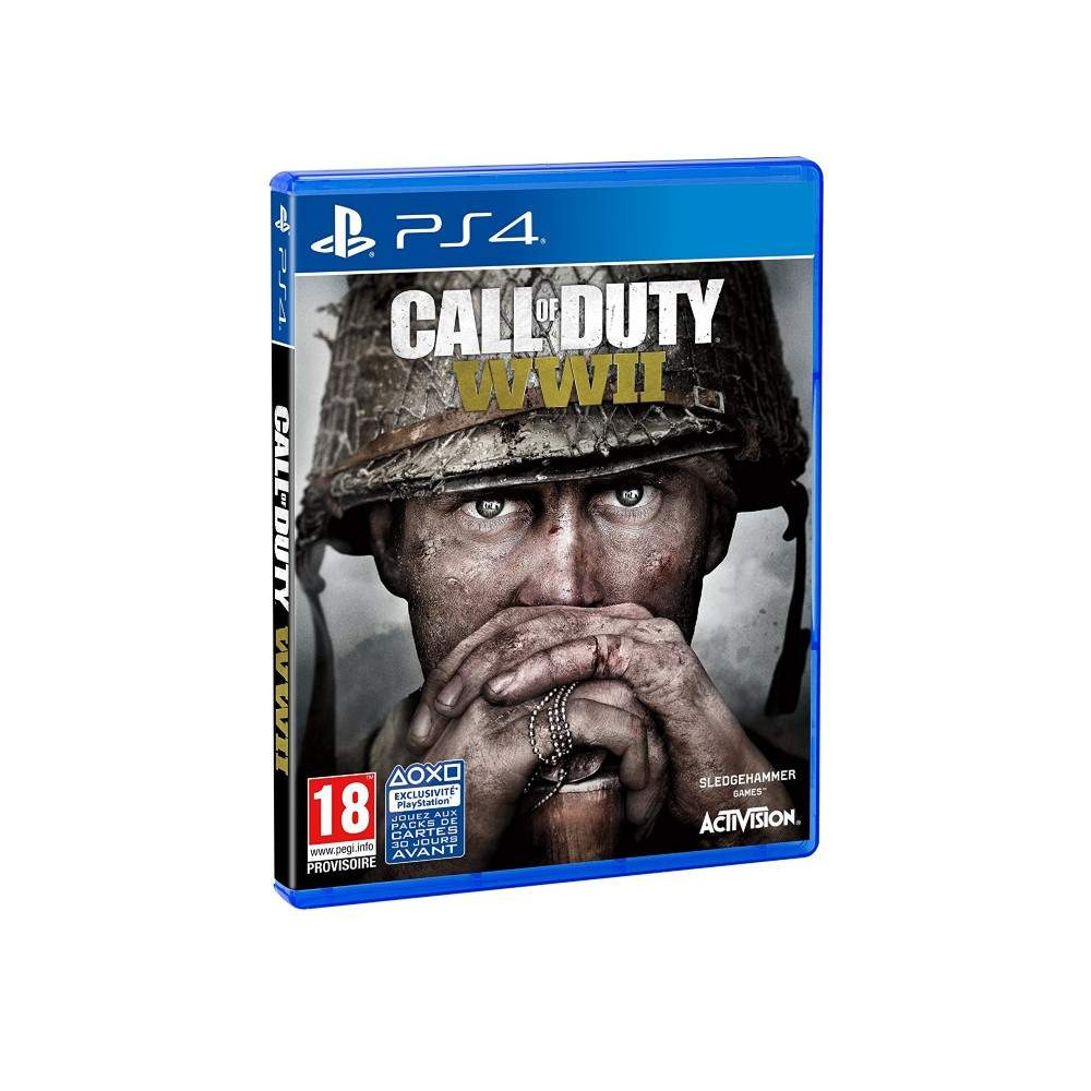 CALL OF DUTY WWII PS4 FR OCCASION