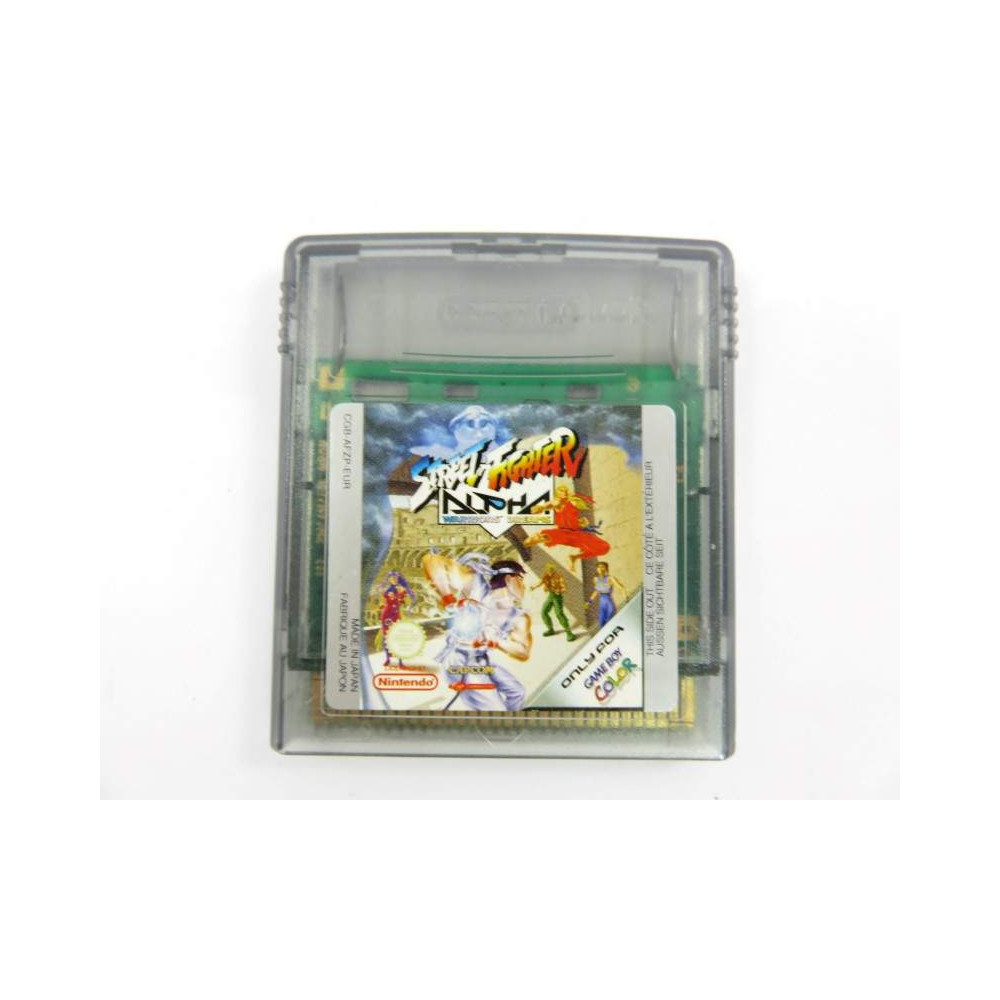 STREET FIGHTER ALPHA GAMEBOY COLOR EUR LOOSE