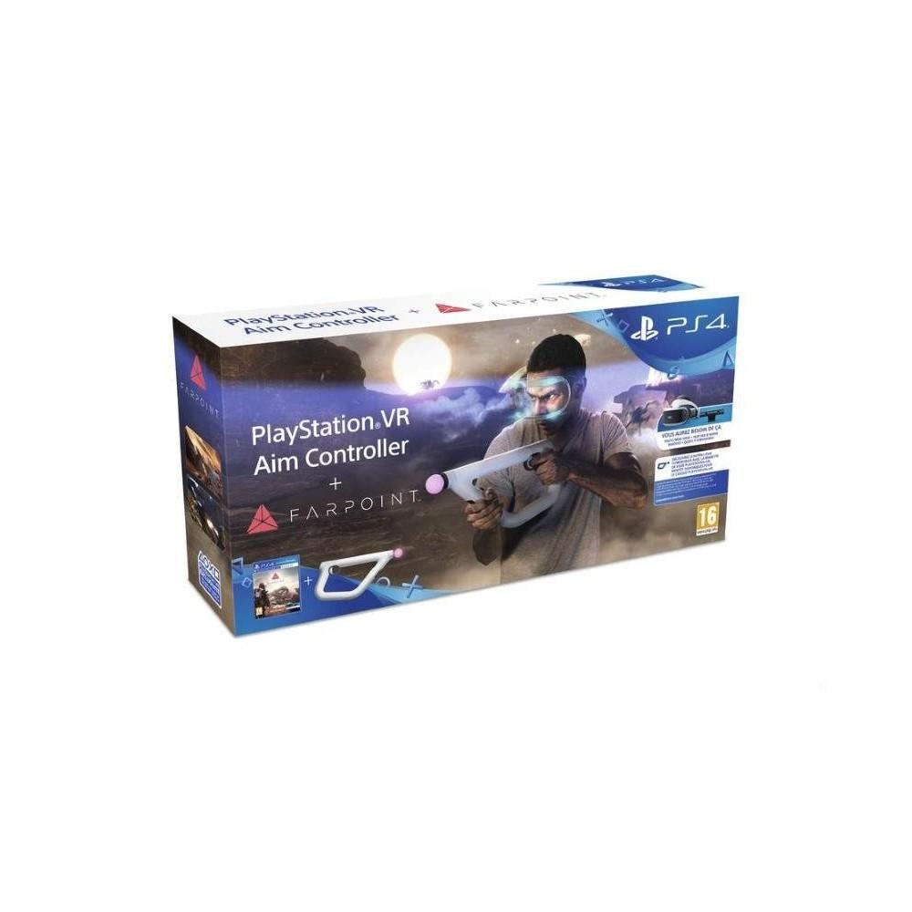 FARPOINT + AIM CONTROLLER PSVR PS4 EURO FR NEW