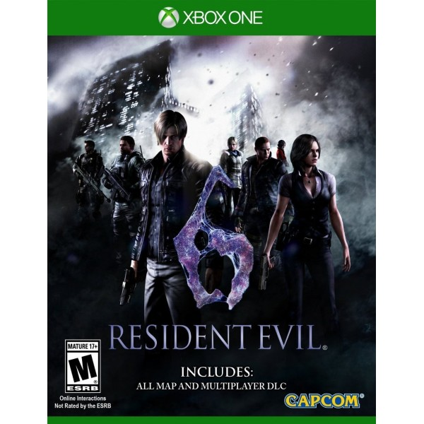 RESIDENT EVIL 6 HD XONE US OCCASION