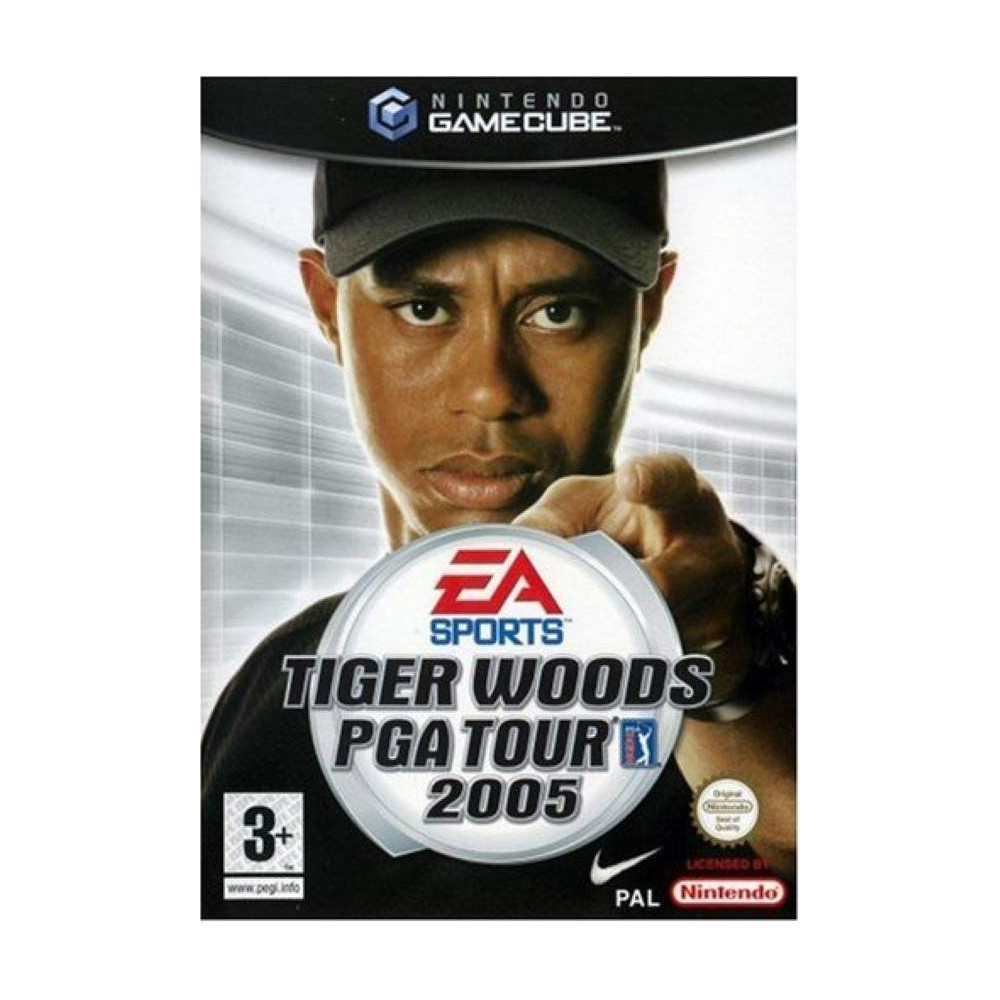 buy tiger woods pga tour 2005 gamecube pal fr occasion game 71749 trader games. Black Bedroom Furniture Sets. Home Design Ideas