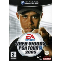 TIGER WOODS PGA TOUR 2005 GAMECUBE PAL-FR OCCASION