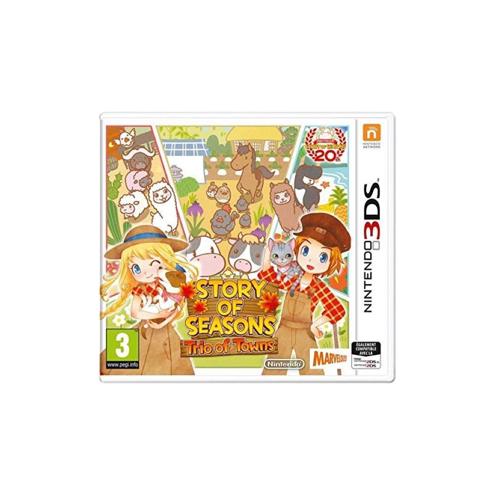 STORY OF SEASONS TRIO OF TOWNS 3DS FR OCCASION