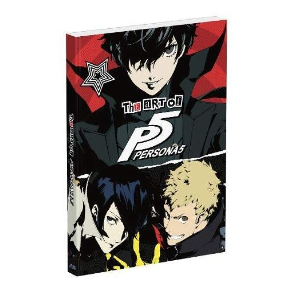 THE ART OF PERSONA 5 UK NEW