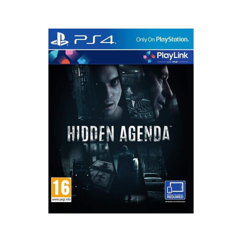 HIDDEN AGENDA PS4 FR NEW