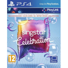 SINGSTAR CELEBRATION PS4 FR NEW
