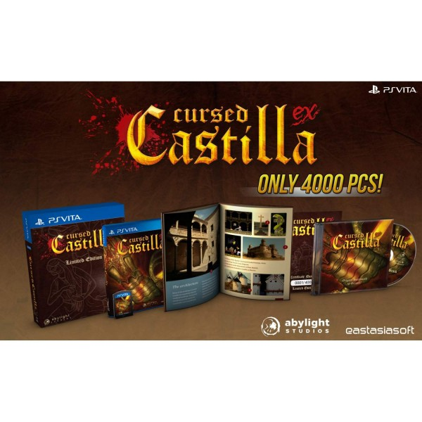 CURSED CASTILLA EX LIMITED EDITION PSVITA ASIAN NEW