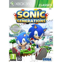 SONIC GENERATION X360 UK NEW