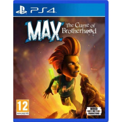 MAX THE CURSE OF BROTHEROOD PS4 EURO FR NEW