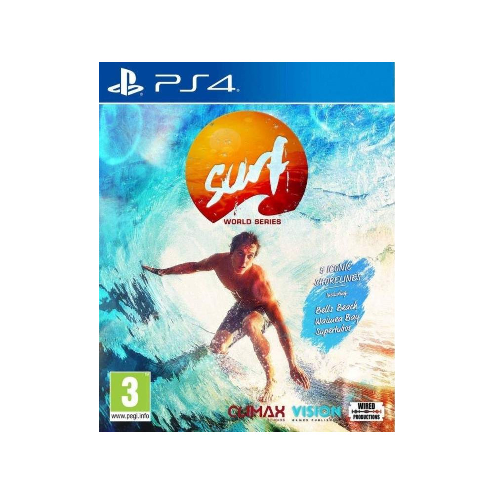 SURF WORLD SERIES PS4 EURO FR NEW