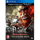 ATTACK ON TITAN WINGS OF FREEDOM TREASURE BOX PS4 FR OCCASION