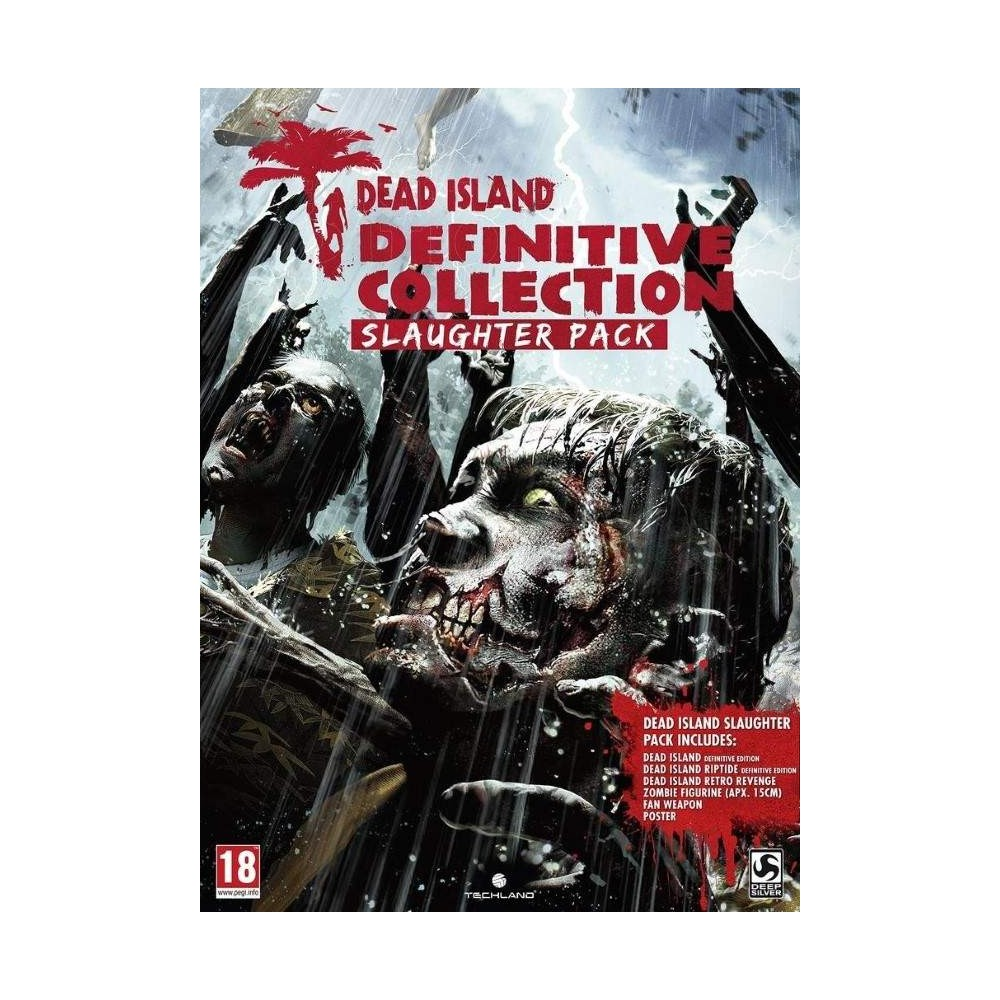 DEAD ISLAND: DEFINITVE COLLECTION - SLAUGHTER PACK PS4 FR NEW