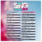 LET S SING 2018 FR + 2 MICROS SWITCH FR NEW