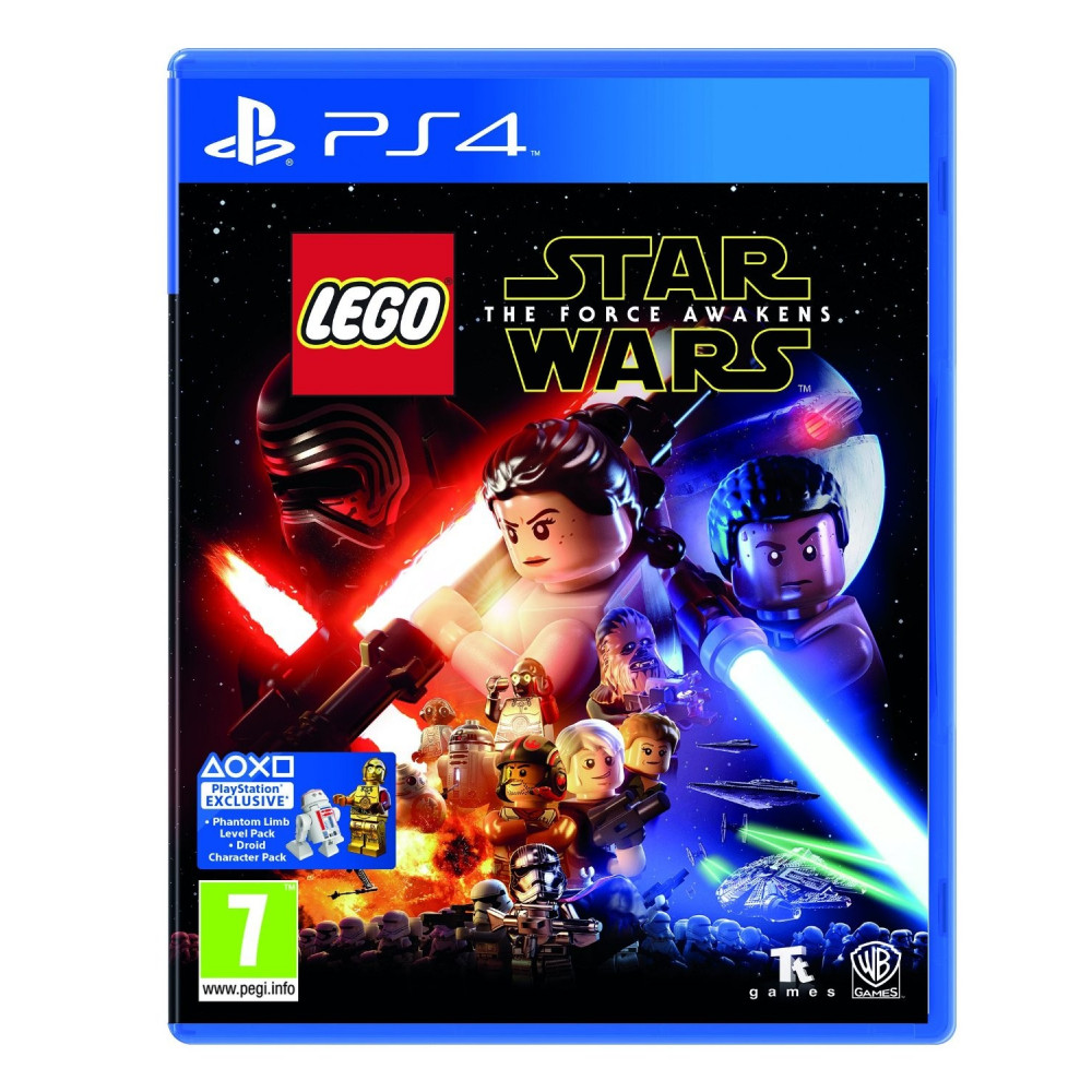 LEGO STAR WARS THE FORCE AWAKENS PS4 UK OCCASION