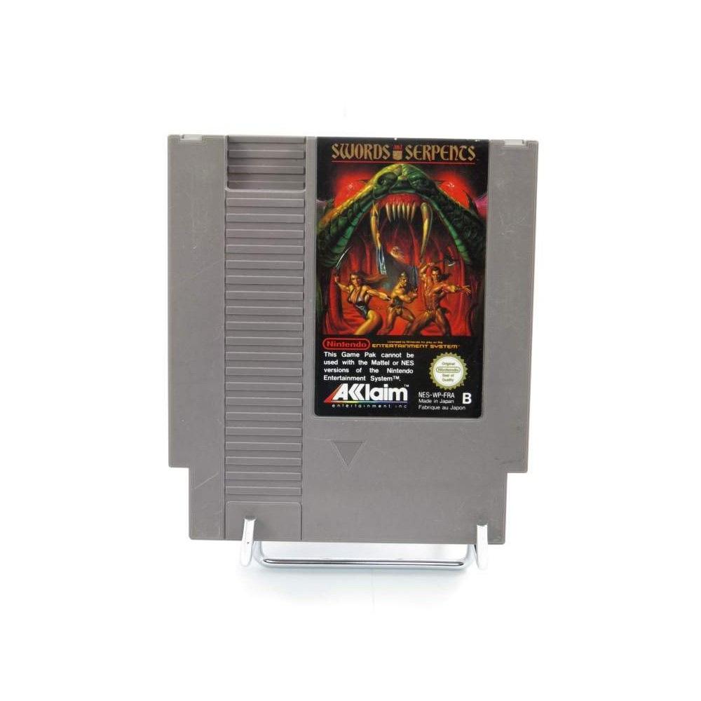 SWORDS AND SERPENTS NES PAL-B FRA LOOSE