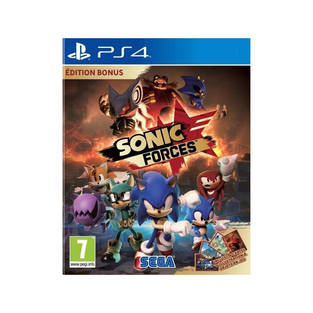 SONIC FORCES EDITION BONUS PS4 FR OCCASION