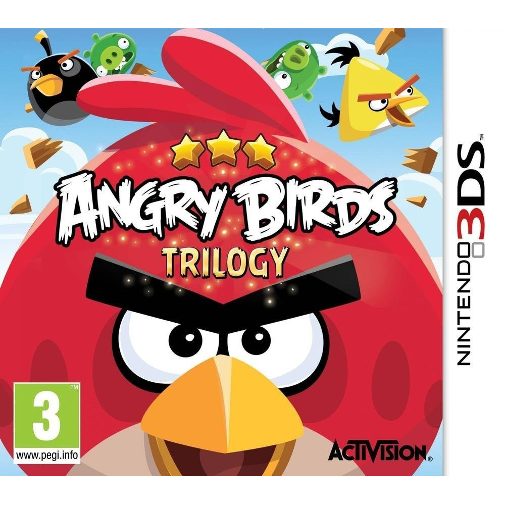 ANGRY BIRDS LA TRILOGIE 3DS FR OCCASION