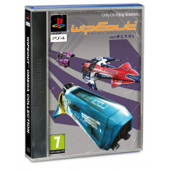 WIPEOUT OMEGA COLLECTION JAQUETTE PS1 PS4 UK NEW