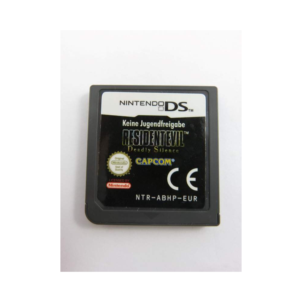 RESIDENT EVIL DEADLY SILENCE NDS EUR LOOSE