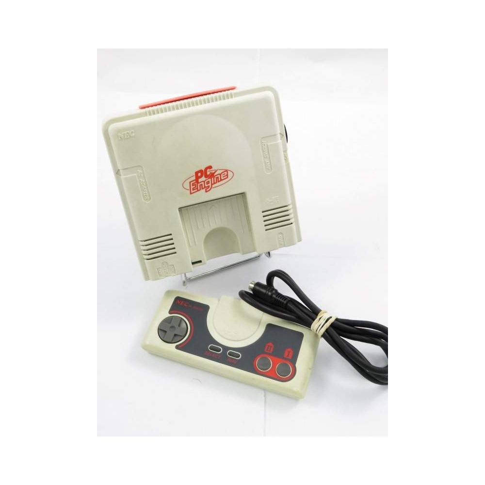 CONSOLE NEC PC ENGINE PI-TG001 WHITE MODIFIEE RGB SYNCHRO PURE C5 NTSC-JPN OCCASION