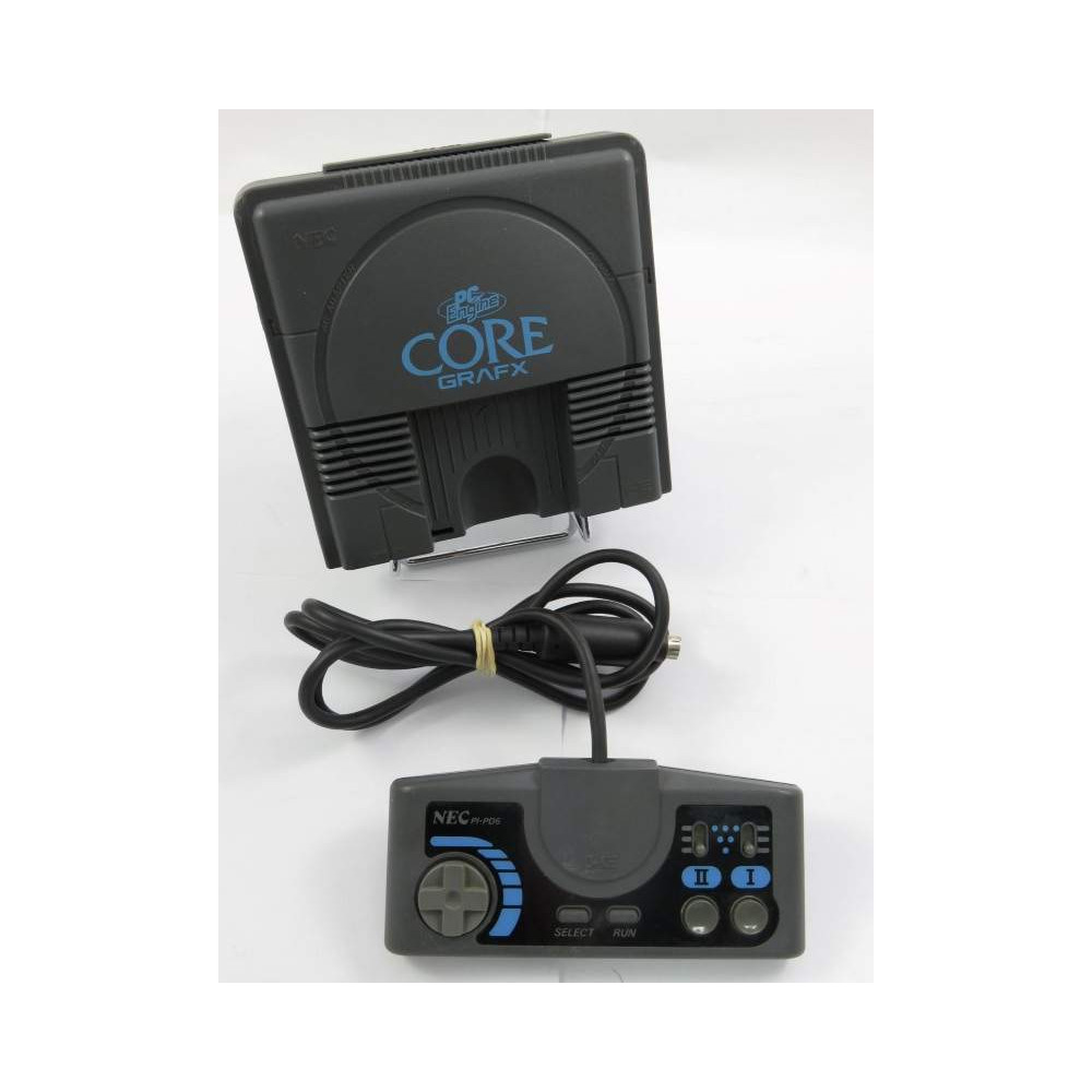 CONSOLE PC ENGINE CORE GRAFX MODIFIEE RGB SYNCHRO PURE C5 NTSC-JPN OCCASION