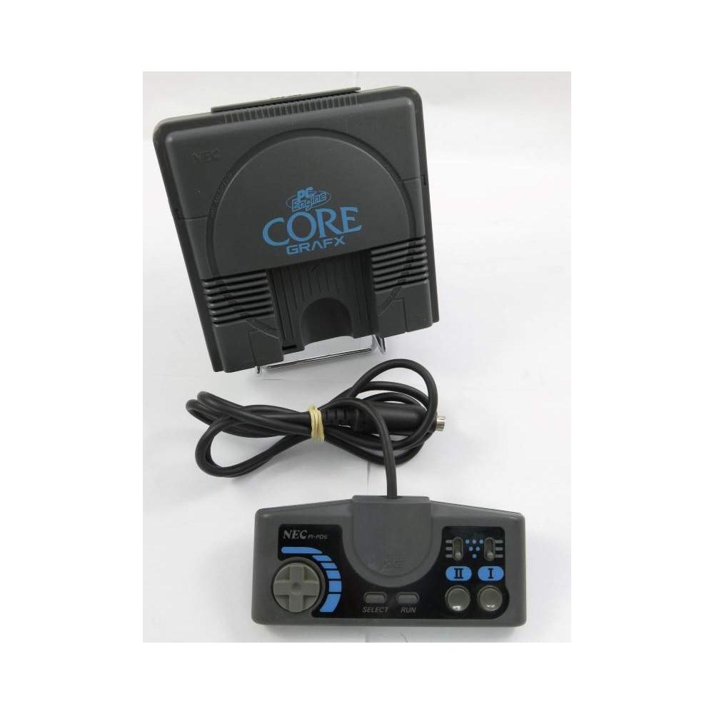 CONSOLE PC ENGINE CORE GRAFX MODIFIEE RGB SYNCHRO PURE C5 NTSC-JPN OCCASION