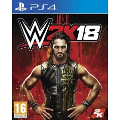 WWE 2K18 PS4 EURO FR NEW