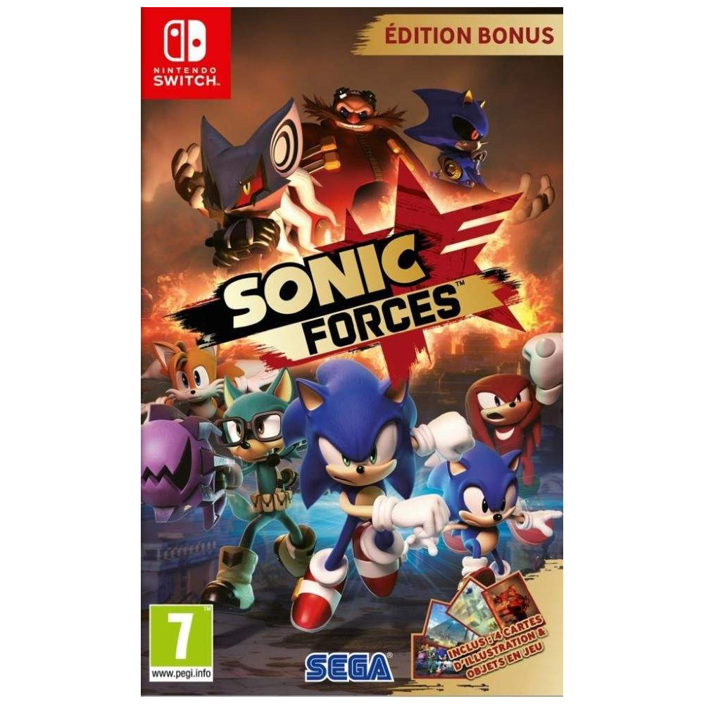 SONIC FORCES EDITION BONUS SWITCH FR OCCASION