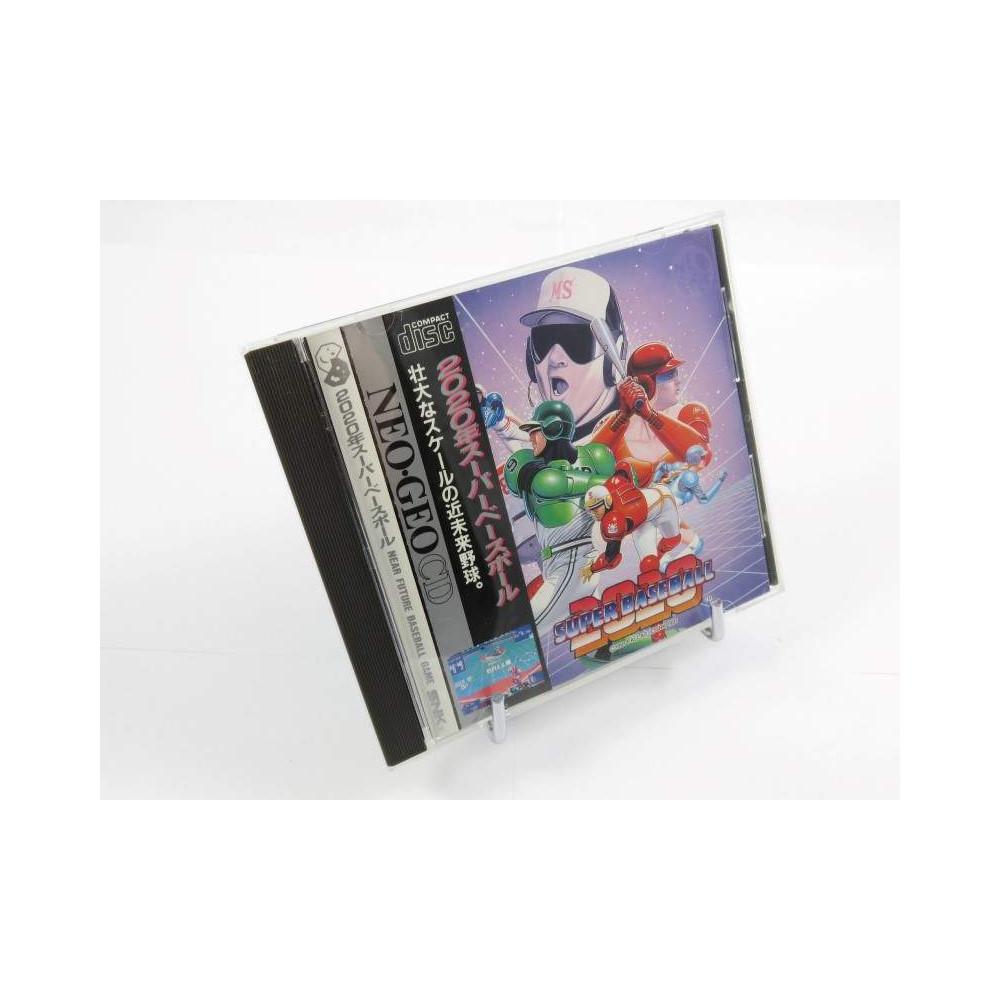 SUPER BASEBALL 2020 NEO GEO CD NTSC-JPN OCCASION (AVEC SPIN)