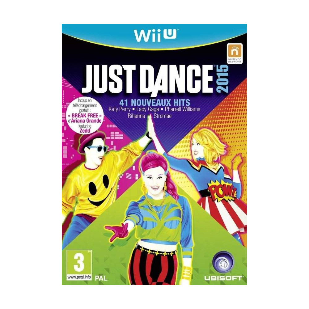 JUST DANCE 2015 WIIU PAL-FR OCCASION