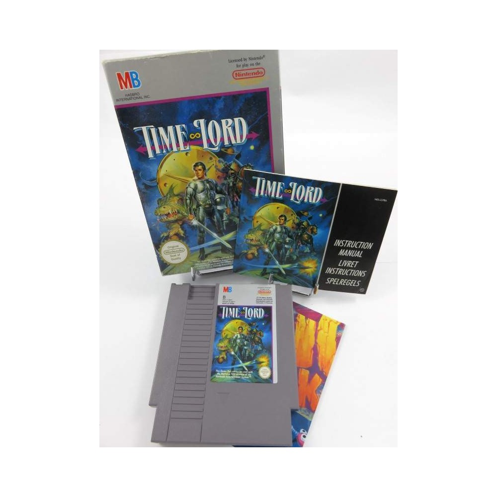 TIME LORD NES PAL-B FRA OCCASION