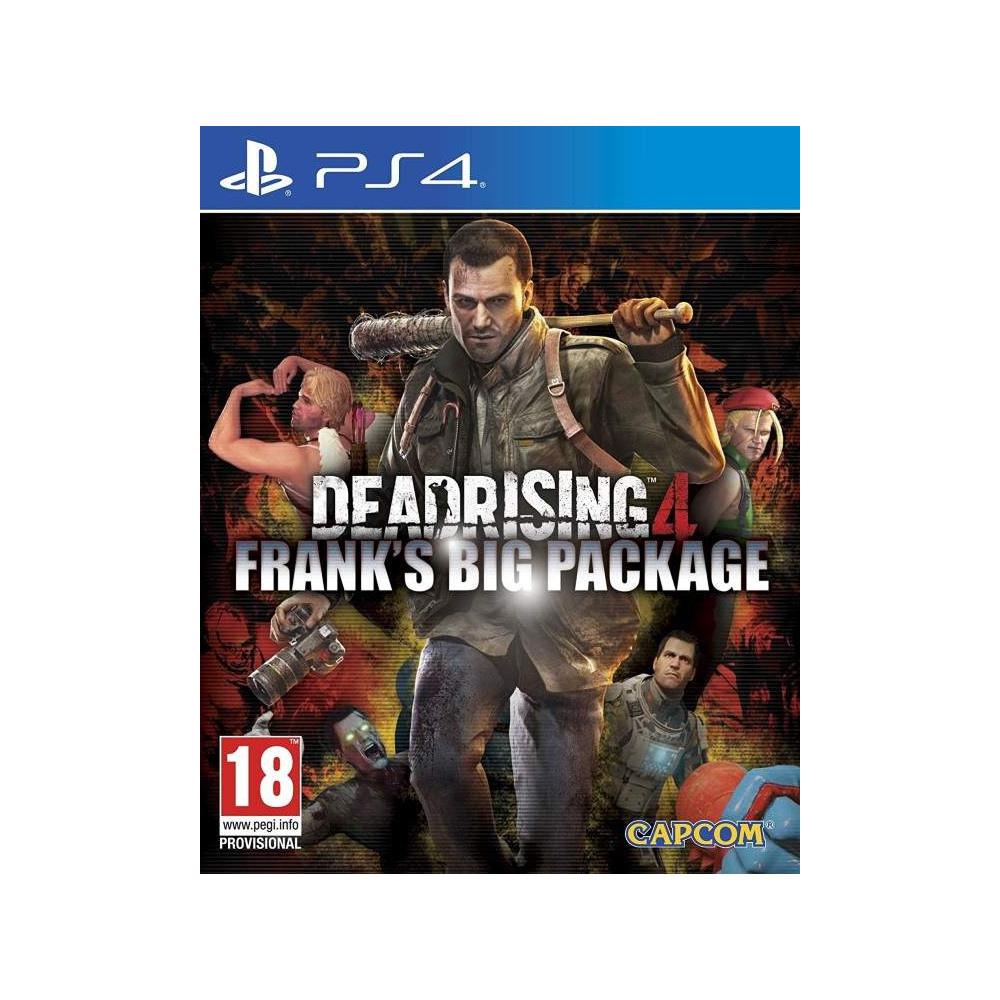DEAD RISING 4 FRANK S BIG PACKAGE PS4 FR NEW