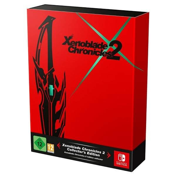 XENOBLADE CHRONICLES 2 COLLECTOR SWITCH FR NEW
