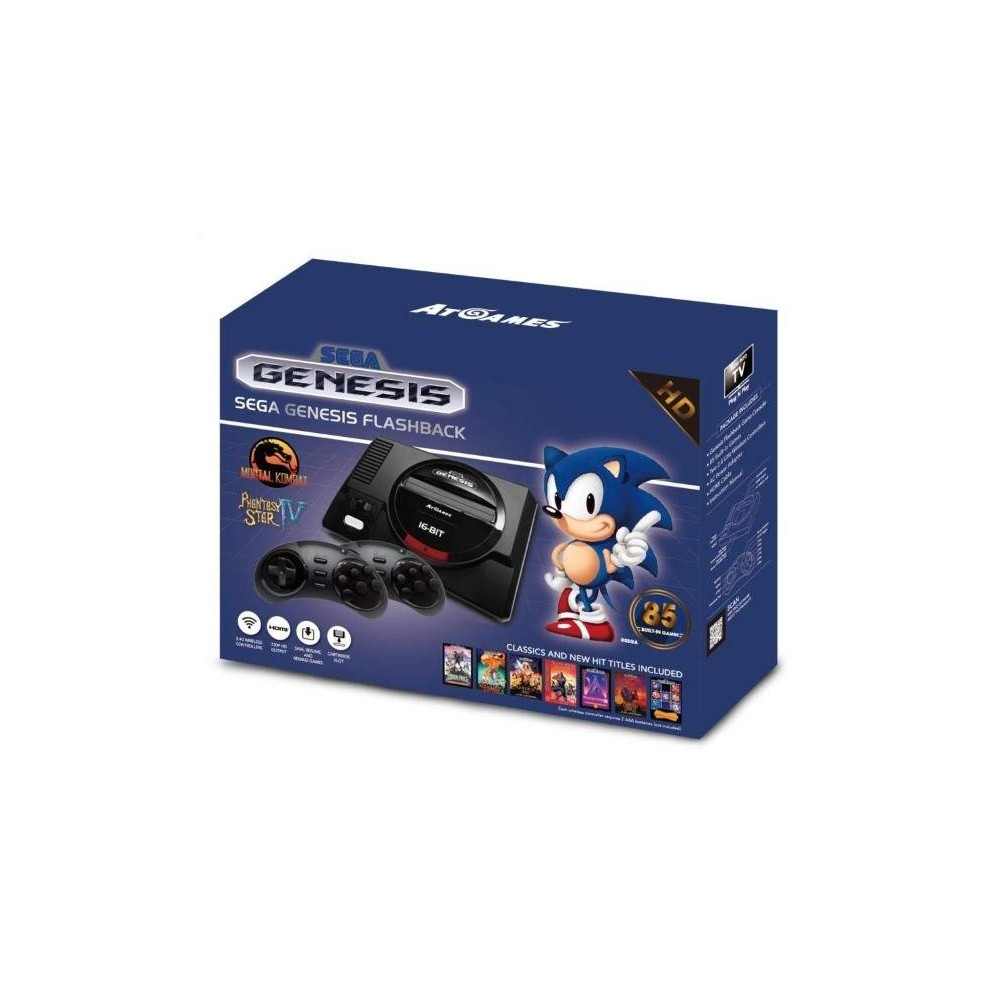 CONSOLE MEGA DRIVE CLASSICS HD + 85 JEUX EURO NEW