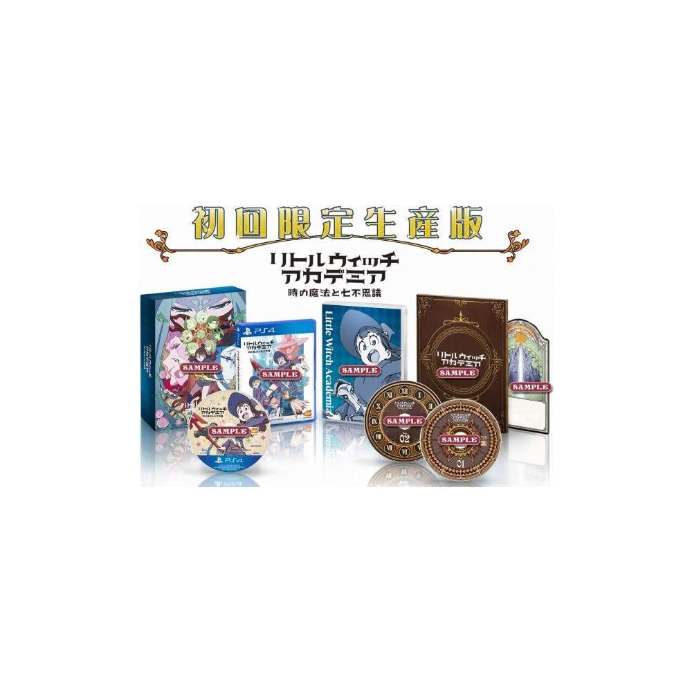 LITTLE WITCH ACADEMIA TOKI NO MAHOU TO NANAFUSHIGI [LIMITED EDITION] PS4 JPN NEW