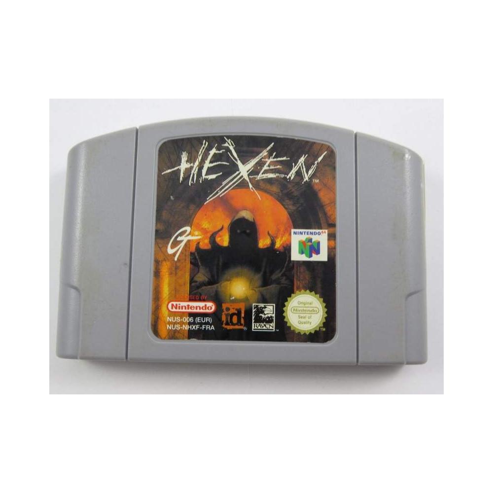 HEXEN N64 PAL-FRA LOOSE