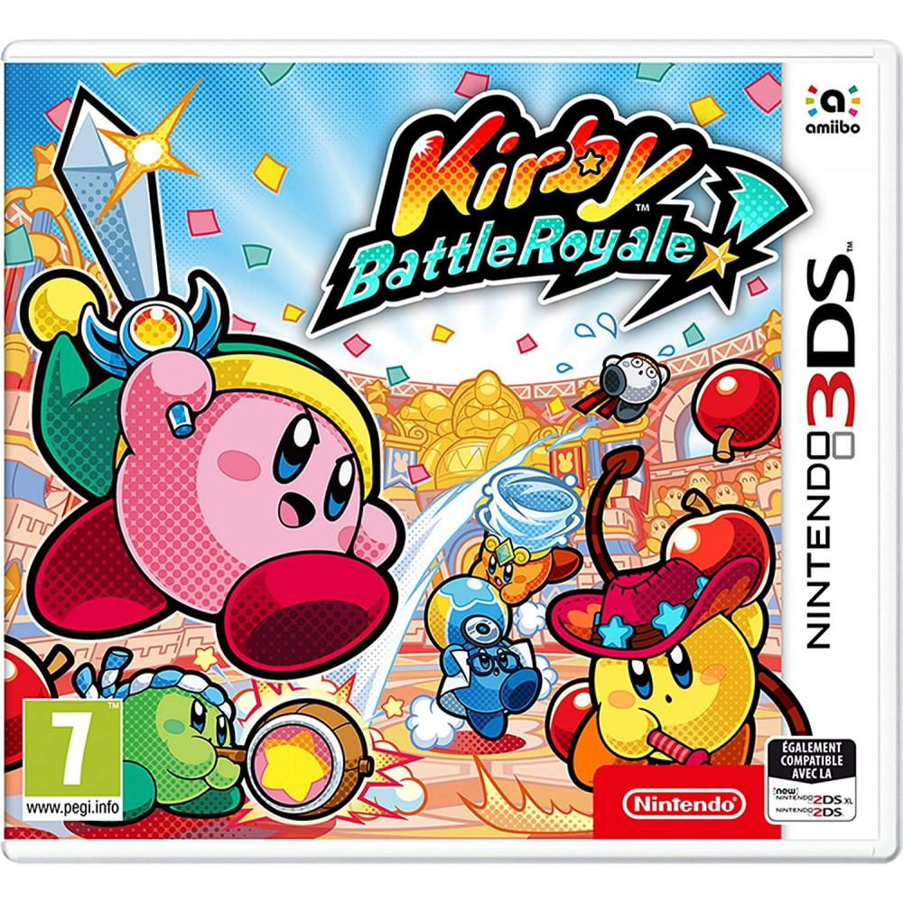 KIRBY BATTLE ROYALE 3DS FR OCCASION