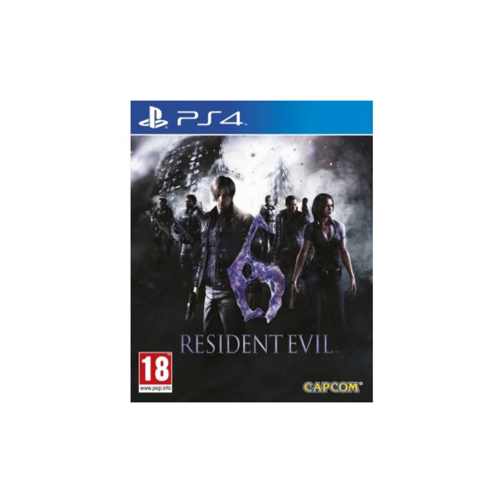 RESIDENT EVIL 6 HD PS4 UK OCCASION