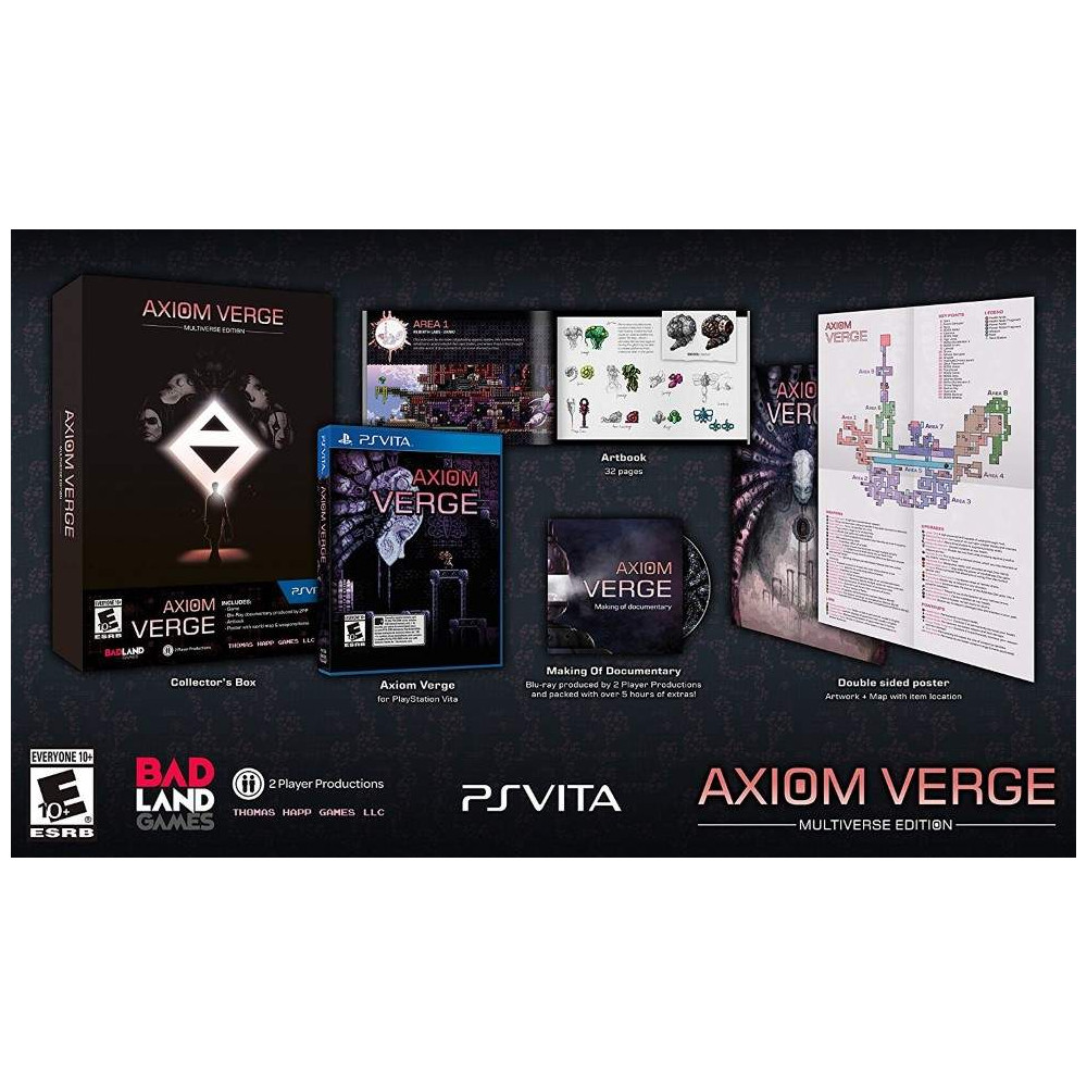 AXIOM VERGE MULTIVERSE EDITION PSVITA US NEW