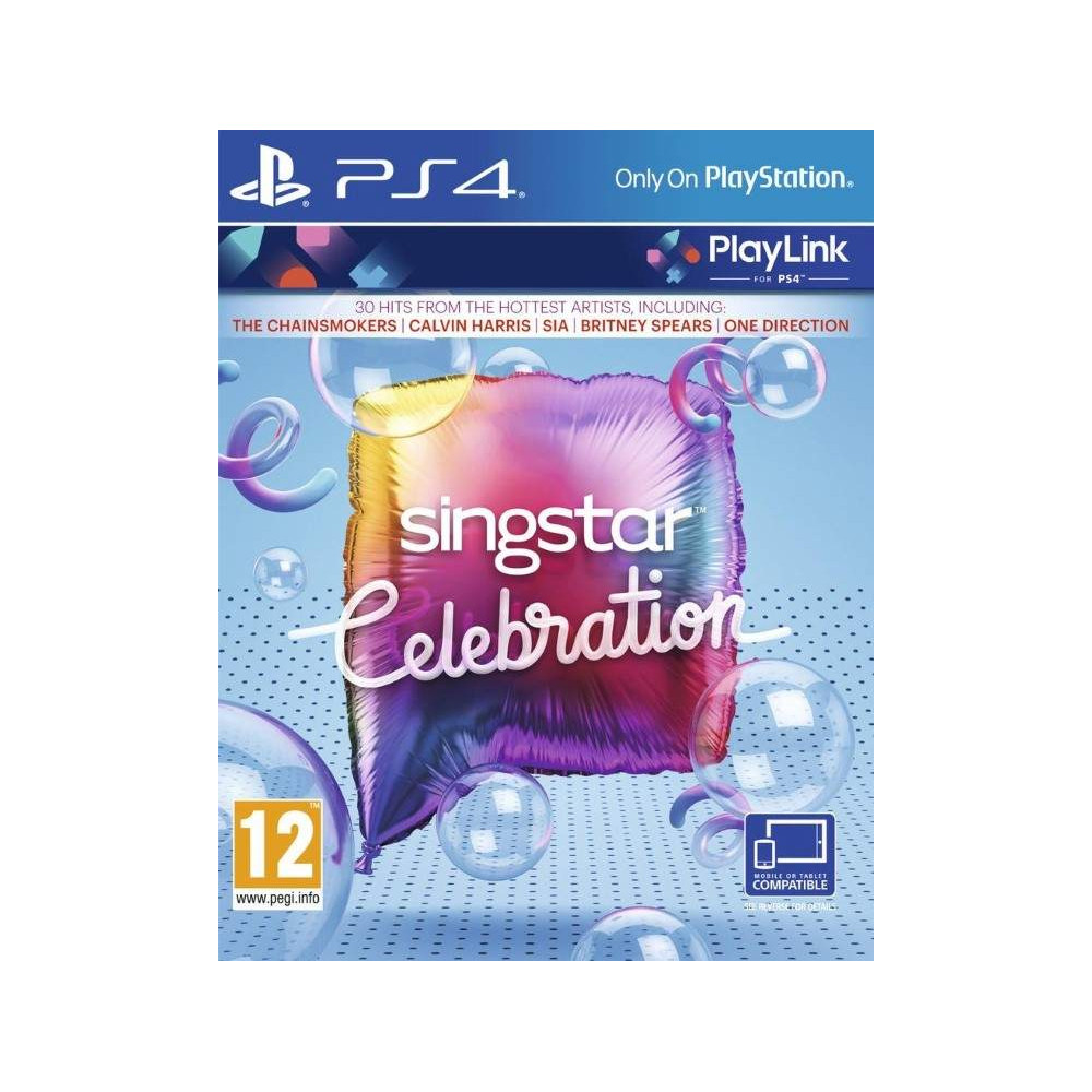 SINGSTAR CELEBRATION PS4 UK NEW