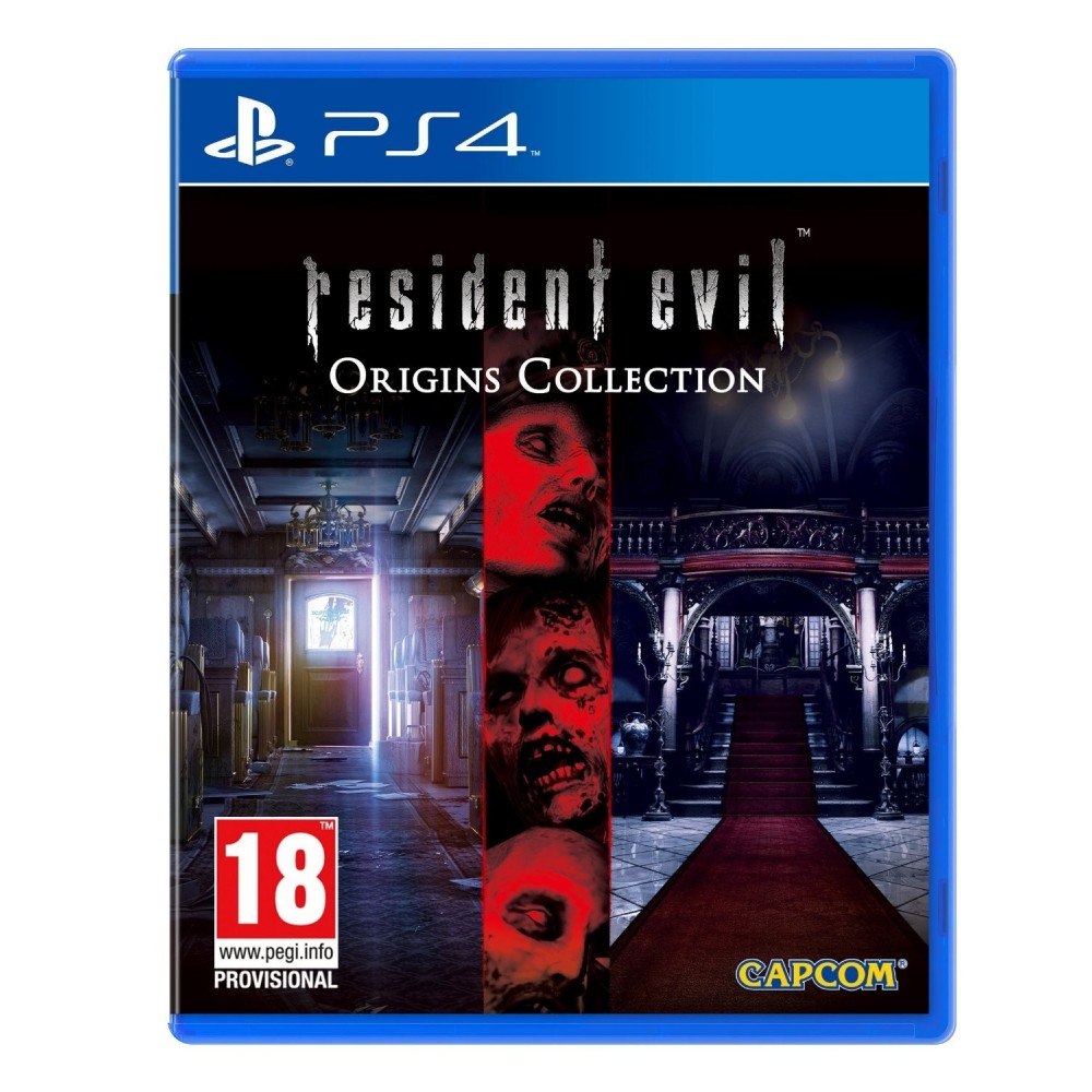 RESIDENT EVIL ORIGINS COLLECTION PS4 UK NEW