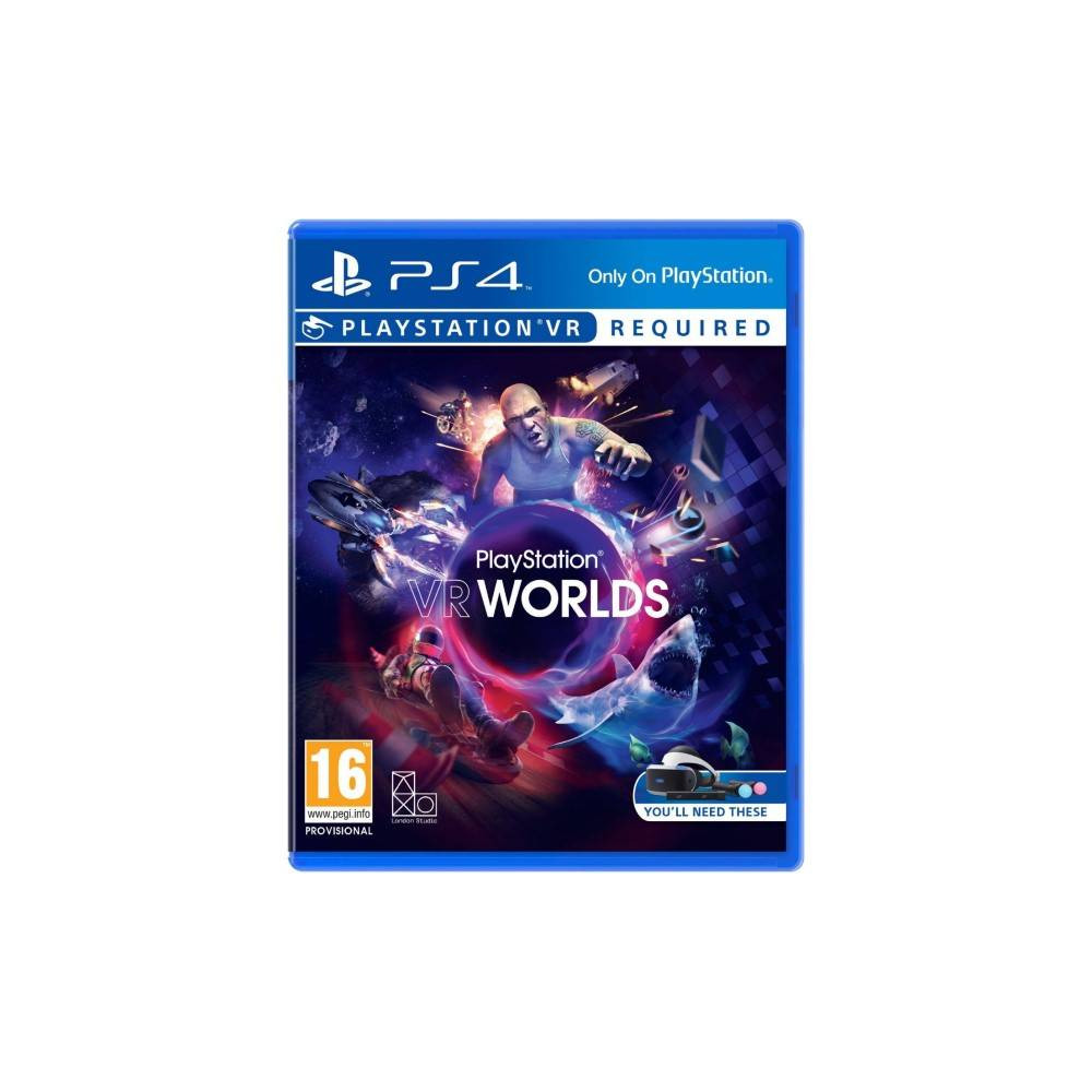 PLAYSTATION VR WORLDS PS4 UK NEW