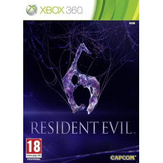 RESIDENT EVIL 6 XBOX 360 PAL-FR OCCASION