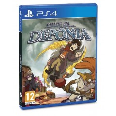 CHAOS ON DEPONIA PS4 UK NEW