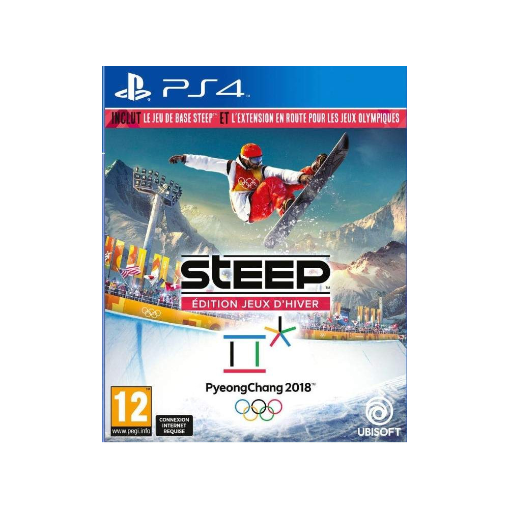 achat steep edition jeux d hiver pyeongchang 2018 ps4 fr new jeu playstation 4 72690 trader. Black Bedroom Furniture Sets. Home Design Ideas