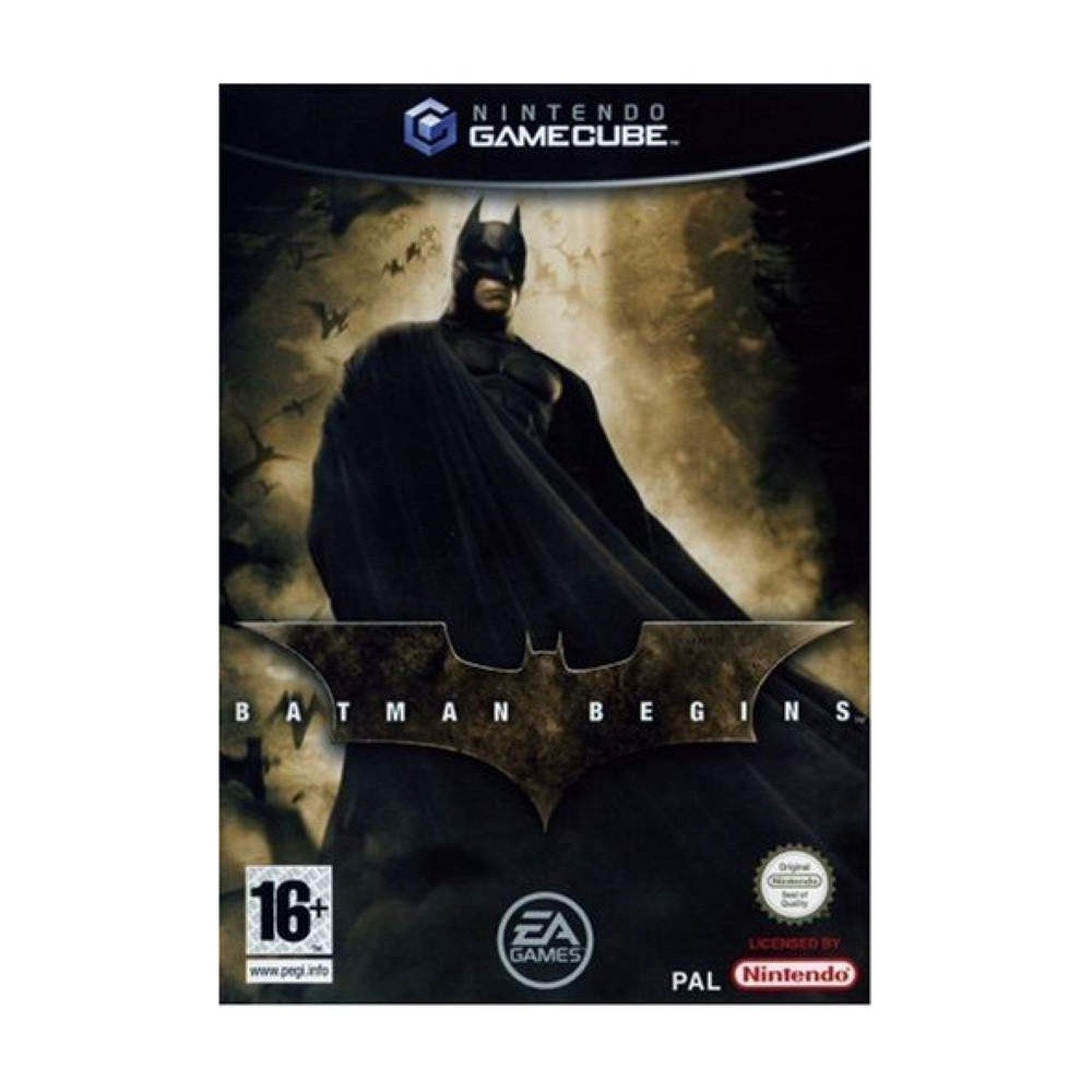 BATMAN BEGINS GAMECUBE PAL-FRA OCCASION