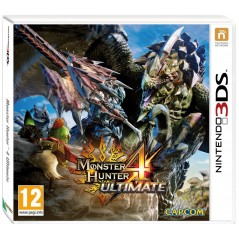 MONSTER HUNTER 4 ULTIMATE 3DS FR NEW