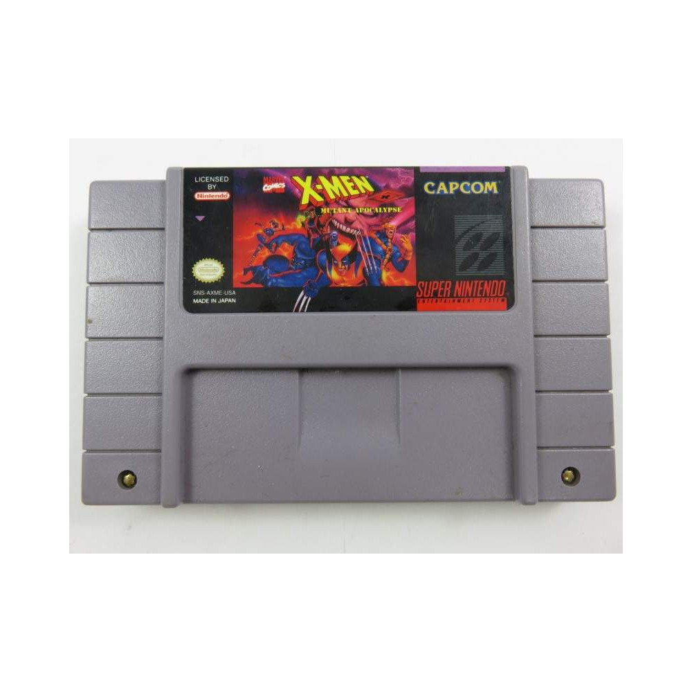 X-MEN MUTANT APOCALYPSE SNES NTSC-USA LOOSE