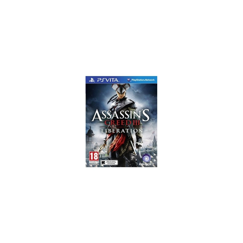 ASSASSIN S CREED III : LIBERATION PSVITA UK NEW