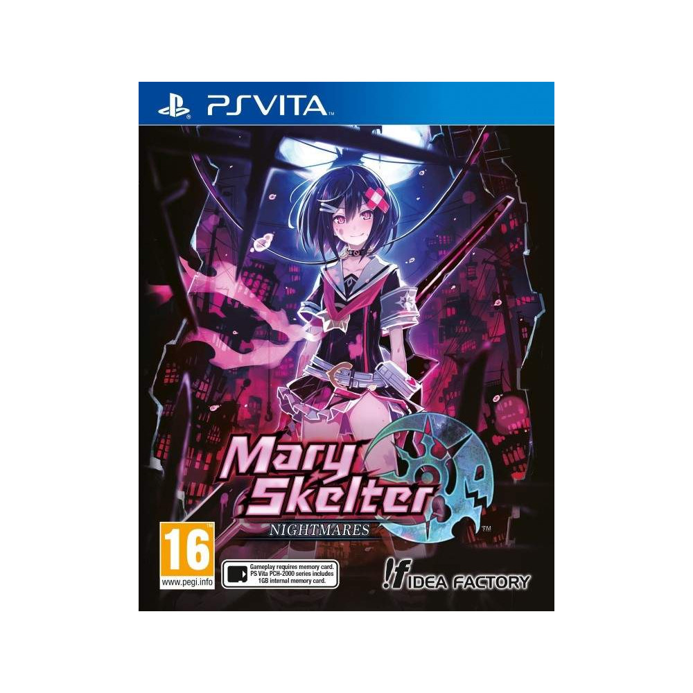MARY SKELTER NIGHTMARES PSVITA UK NEW